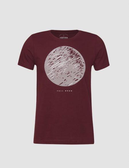 تیشرت مردانه طرح ماه کامل